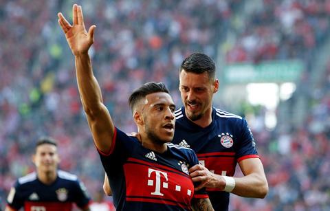Tolisso ghi bàn gỡ hòa 1-1 cho Bayern