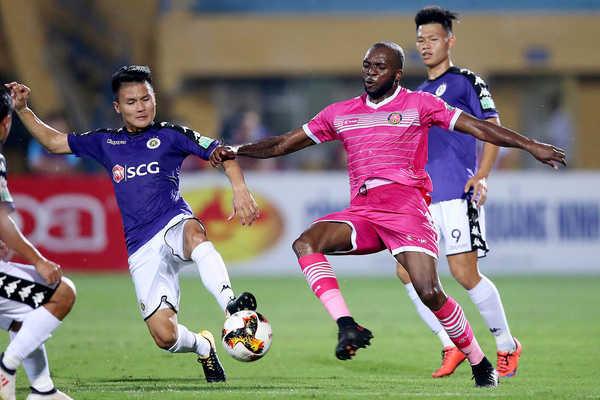 Quang Hải đá chính, Hà Nội FC hoà kịch tính Sài Gòn FC tại Hàng Đẫy