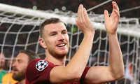 Cùng AS Roma vào bán kết, Dzeko hạnh phúc khi từ chối Chelsea