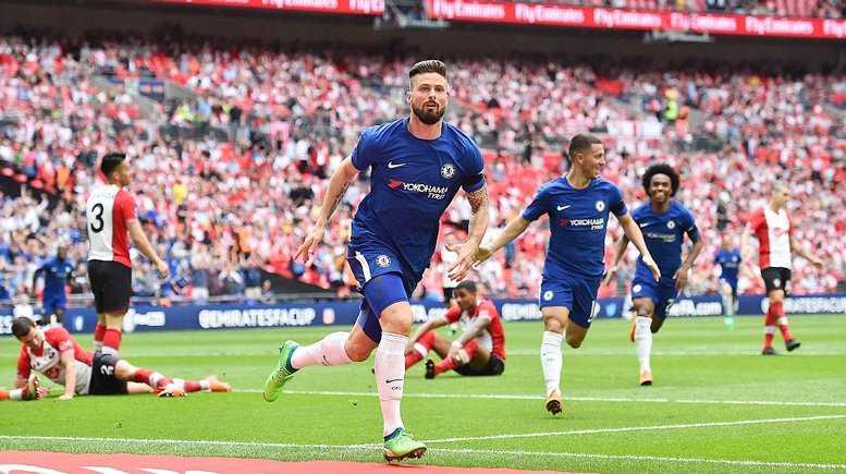 Giroud lập siêu phẩm, Chelsea hẹn MU ở chung kết FA Cup