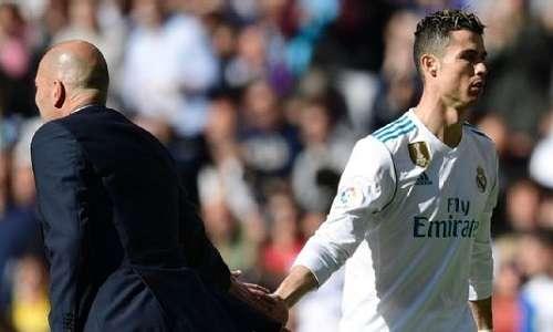 Zidane muốn giữ sức cho Ronaldo đá tứ kết lượt về Champions League với Juventus
