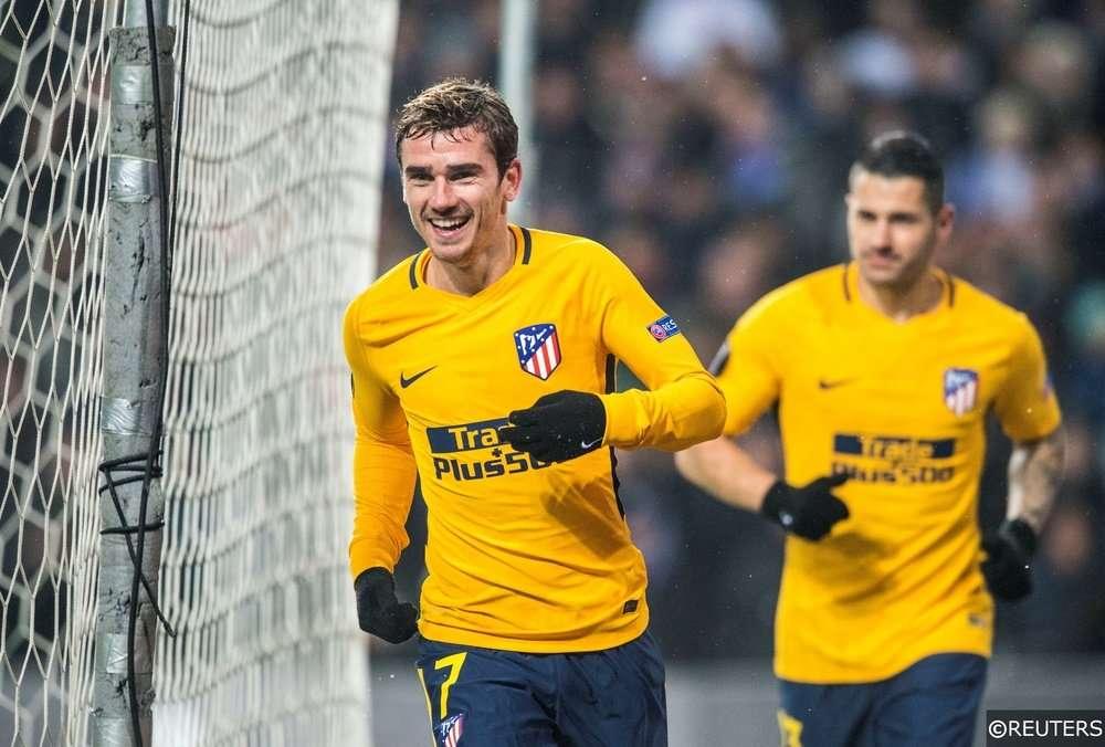 Griezmann của Atletico Madrid