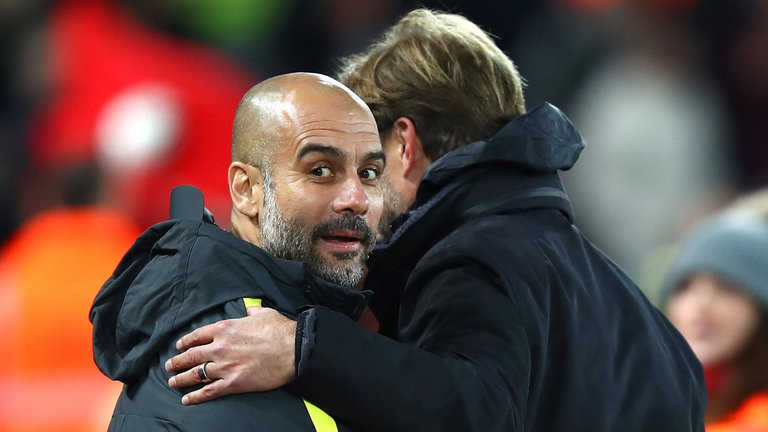 Pep Guardiola e ngại bộ ba tấn công hủy diệt của Liverpool