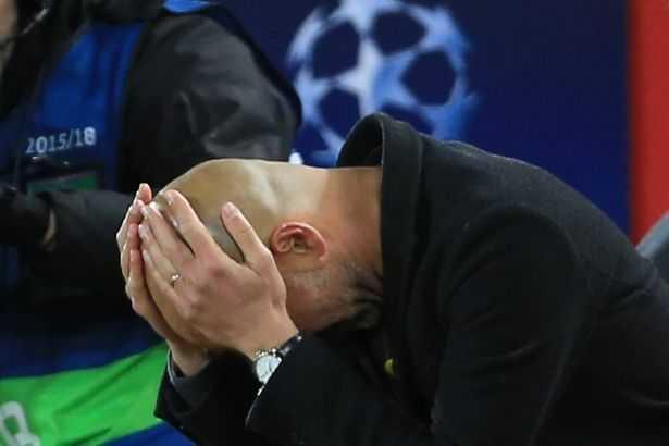 Pep Guardiola chấp nhận lỗi sai sau khi Man City thua bẽ bàng