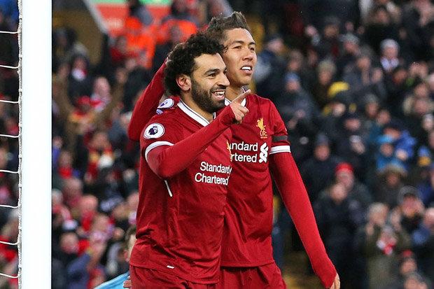 Salah và Firmino giúp Liverpool xô đổ kỷ lục của MU ở cup C1