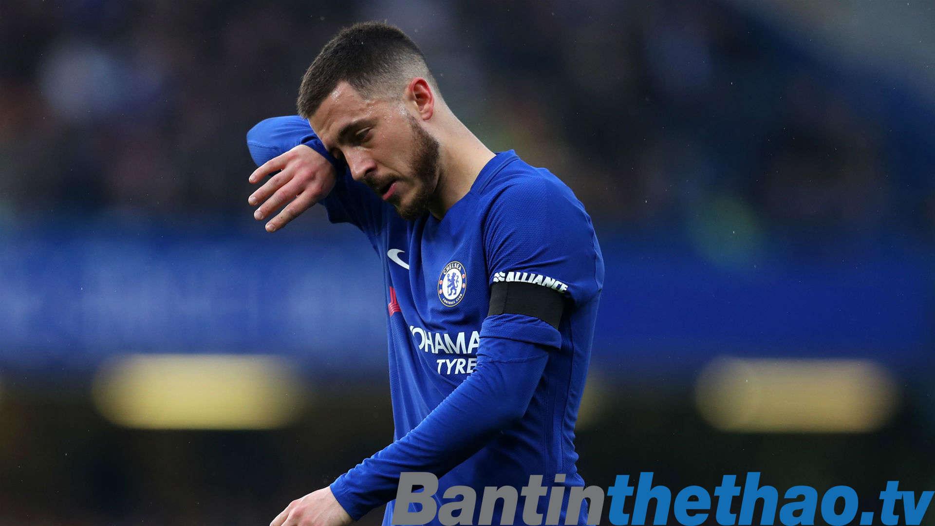 Hazard không hài lòng với phong độ của mình trong mùa giải này