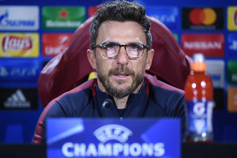 """Di Francesco: """"Tôi sẽ không cử người theo sát Salah như hình với bóng ở Anfield đêm nay"""""""