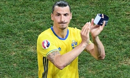 Ibrahimovic có 116 lần khoác áo tuyển Thụy Điển.