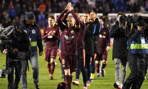 Iniesta ước được gắn bó bất tận với Barca