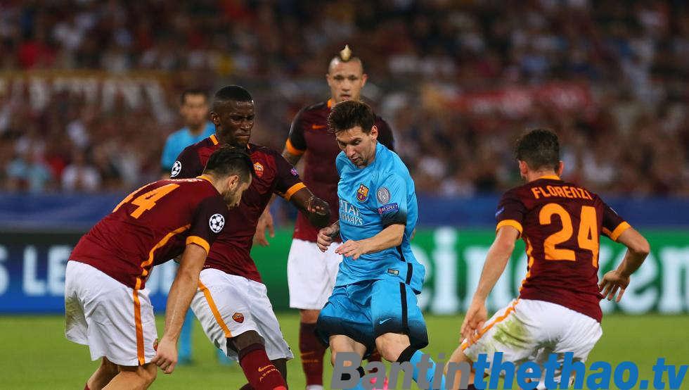 Barca vs Roma đêm nay 4/4/2018 Tứ kết Cúp C1