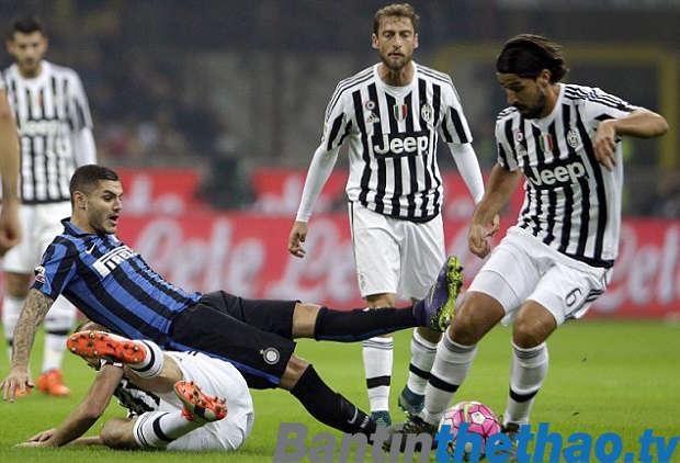 Juventus vs Inter Milan đêm nay 29/4/2018 Serie A
