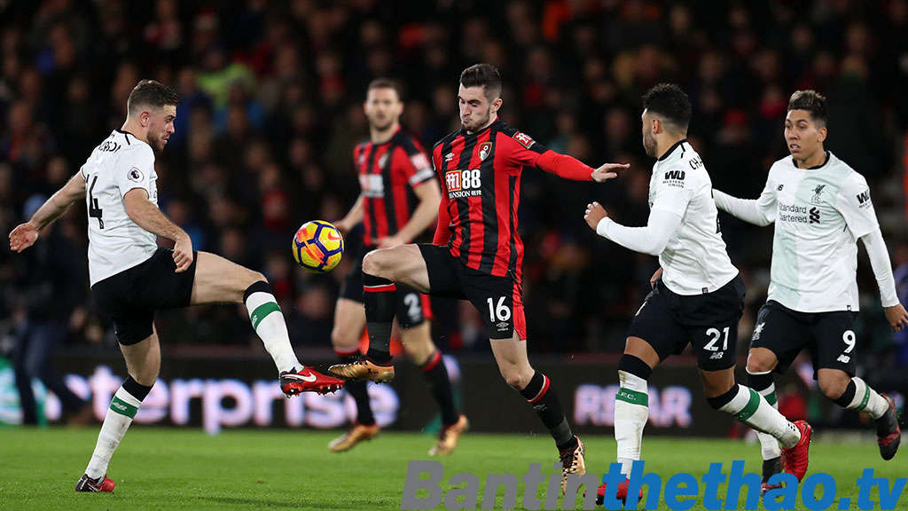 Liverpool vs Bournemouth tối nay 14/4/2018 Ngoại Hạng Anh