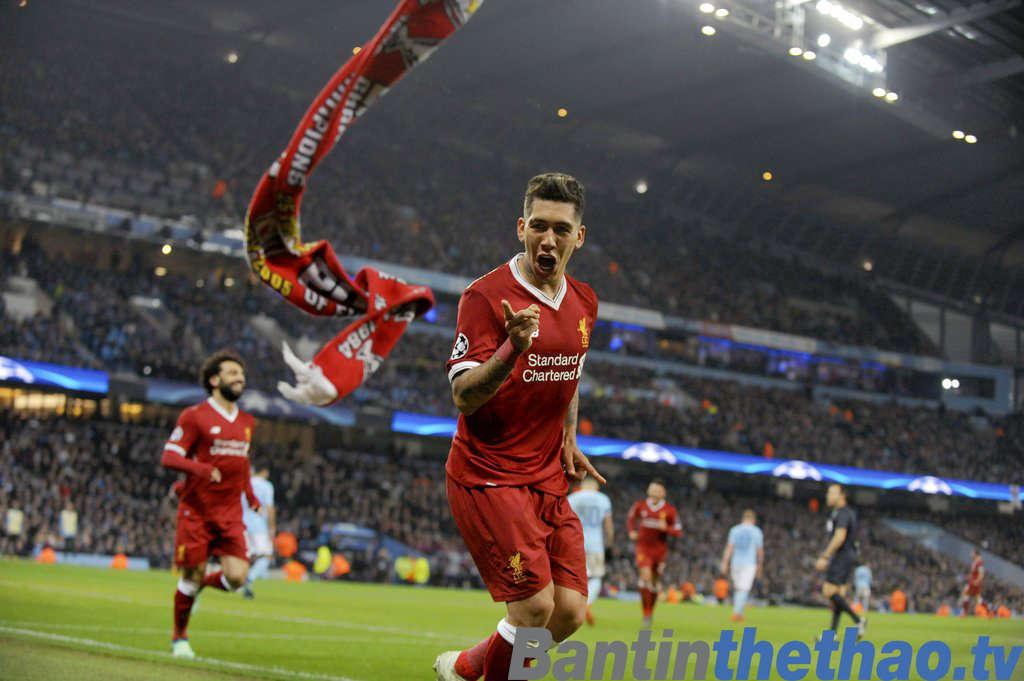 Liverpool vs Roma đêm nay 25/4/2018 Bán kết Cúp C1