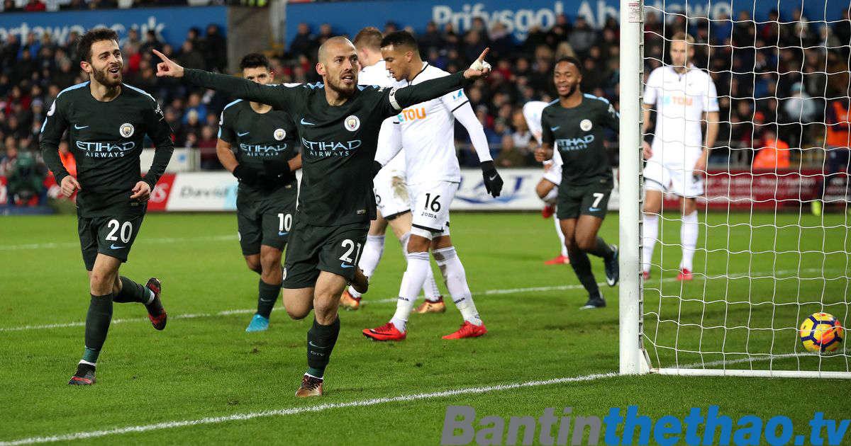 Man City vs Swansea hôm nay 22/4/2018 Ngoại Hạng Anh