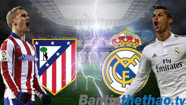 Real vs Atletico Madrid tối nay 08/04/2018 La Liga
