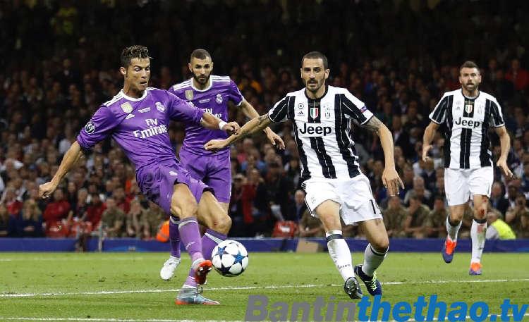 Real vs Juventus đêm nay 4/4/2018 Tứ kết Cúp C1