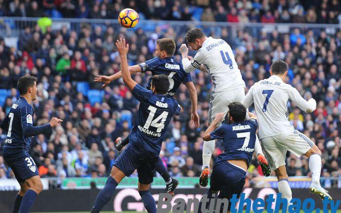 Real vs Malaga tối nay 16/4/2018 La Liga