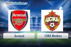 Link xem trực tiếp, link sopcast live stream Arsenal vs CSKA Moskva đêm nay 6/4/2018 Cúp C2 Europa League