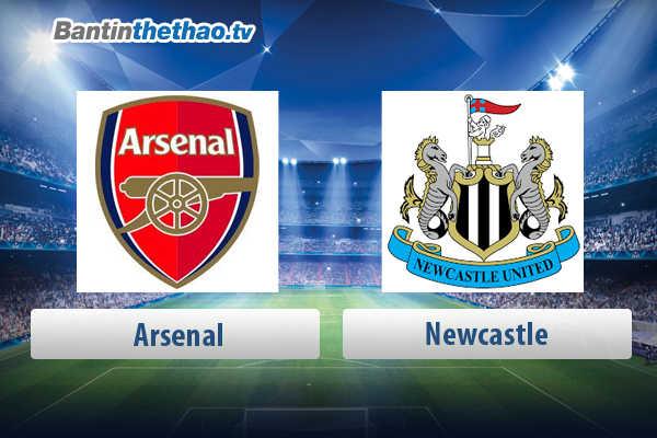 Link xem trực tiếp, link sopcast live stream Arsenal vs Newcastle tối nay 15/4/2018 Ngoại Hạng Anh