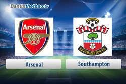 Link xem trực tiếp, link sopcast live stream Arsenal vs Southampton tối nay 08/04/2018 Ngoại Hạng Anh