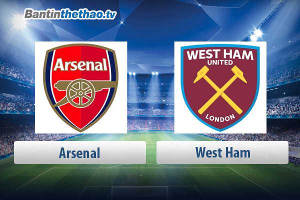 Link xem trực tiếp, link sopcast live stream Arsenal vs West Ham tối nay 22/4/2018 Ngoại Hạng Anh