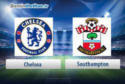 Link xem trực tiếp, link sopcast live stream Chelsea vs Southampton tối nay 14/4/2018 Ngoại Hạng Anh