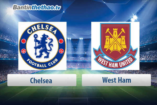 Link xem trực tiếp, link sopcast live stream Chelsea vs West Ham tối nay 08/04/2018 Ngoại Hạng Anh