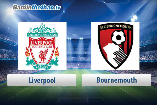 Link xem trực tiếp, link sopcast live stream Liverpool vs Bournemouth tối nay 14/4/2018 Ngoại Hạng Anh