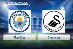 Link xem trực tiếp, link sopcast live stream Man City vs Swansea hôm nay 22/4/2018 Ngoại Hạng Anh
