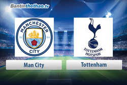 Link xem trực tiếp, link sopcast live stream Man City vs Tottenham hôm nay 15/4/2018 Ngoại Hạng Anh