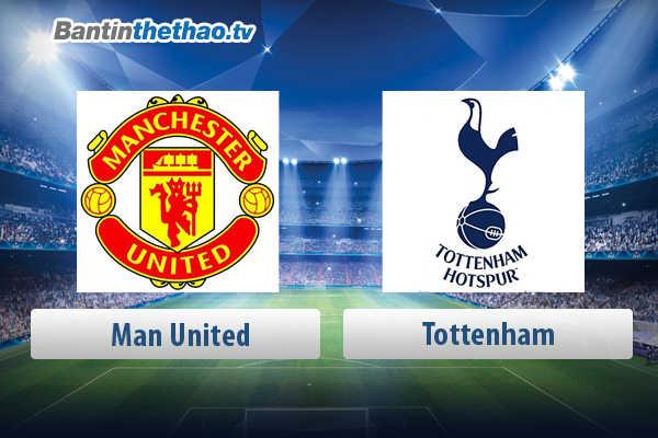 Link xem trực tiếp, link sopcast live stream MU vs Tottenham tối nay 21/4/2018 Bán kết FA Cup