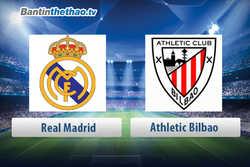 Link xem trực tiếp, link sopcast live stream Real vs Athletic Bilbao tối nay 19/4/2018 La Liga