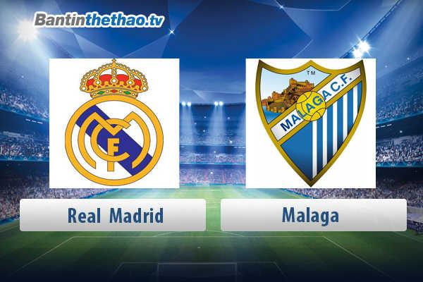 Link xem trực tiếp, link sopcast live stream Real vs Malaga tối nay 16/4/2018 La Liga