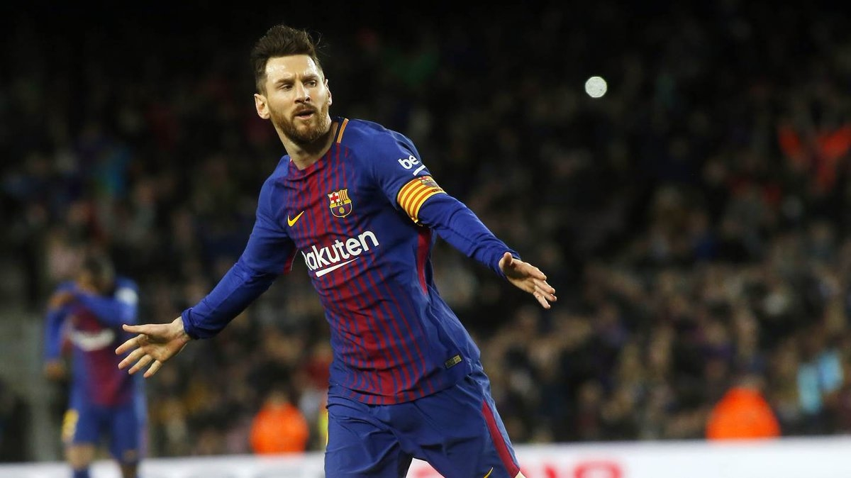 Messi tỏa sáng với cú hattrick.