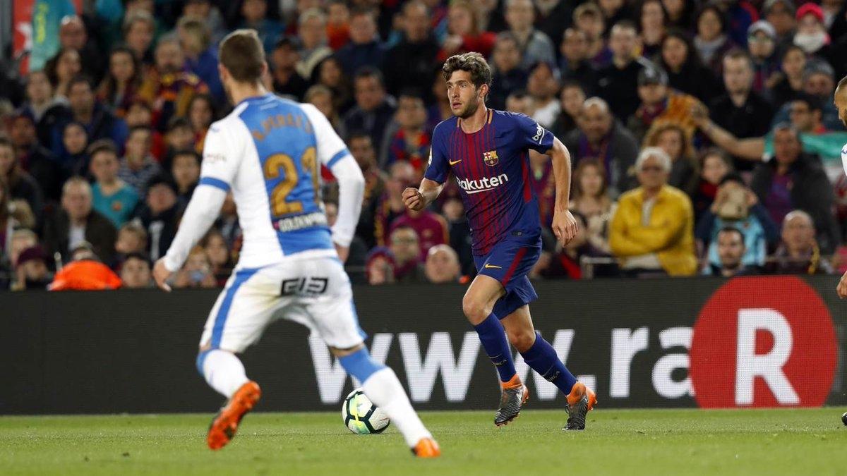 Barca có thế trận vượt trội.