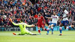 Salah tịt ngòi, Liverpool chia điểm với Stoke