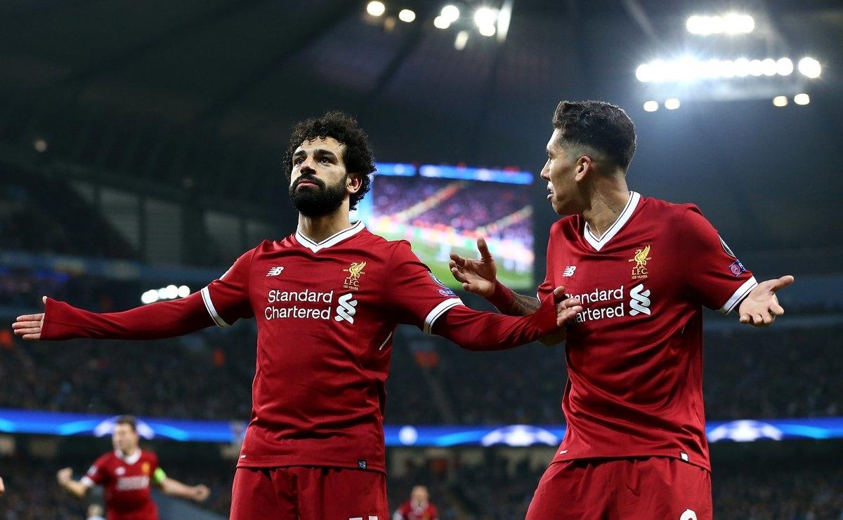 Salah và Firmino là người hùng của Liverpool