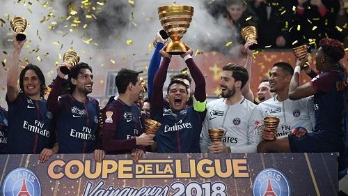 PSG lần thứ năm liên tiếp đoạt Cup Liên đoàn Pháp.