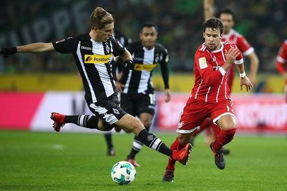 M'Gladbach thường khá bản lĩnh khi đối đầu với Bayern Munich