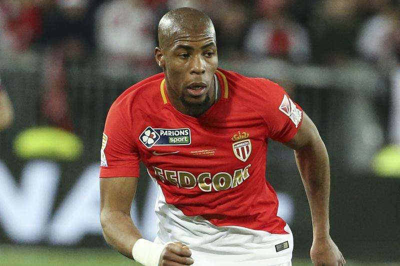 Djibril Sidibe trong màu áo AS Monaco.