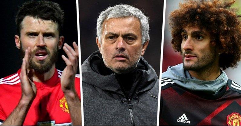 Mourinhocần tìm người thay Carrick và Fellaini