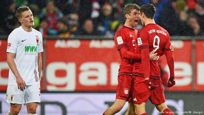Nếu đánh bại Augsburg, Bayern sẽ chính thức đăng quang Bundesliga mùa thứ 6 liên tiếp