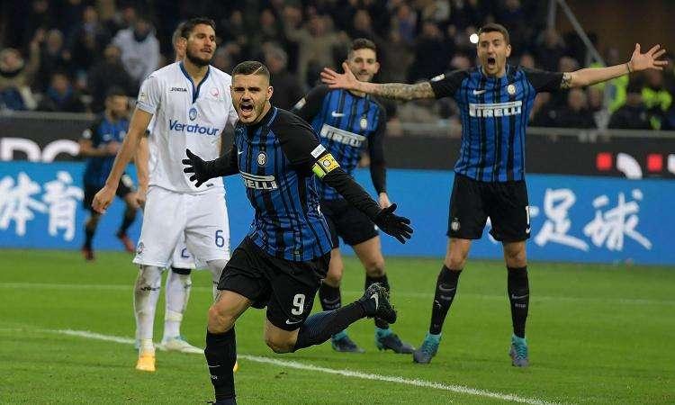 Nếu đánh bại Atalanta, Inter sẽ trở lại Top 4 sau vòng 32