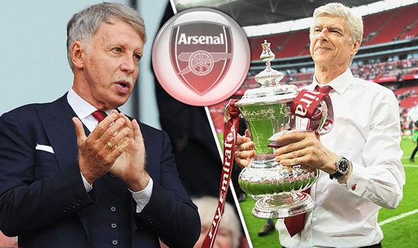 Ông chủ Arsenal chưa vội tìm người thay thế Wenger