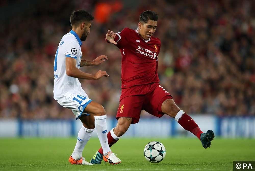 Roberto Firmino của Liverpool