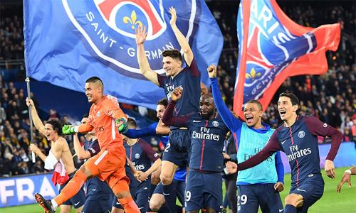 PSG có chức vô địch Ligue 1thứ năm trong sáu mùa gần đây.