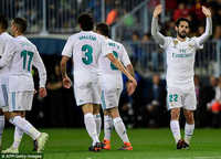 Isco tỏa sáng, Real Madrid soán vị trí của Valencia