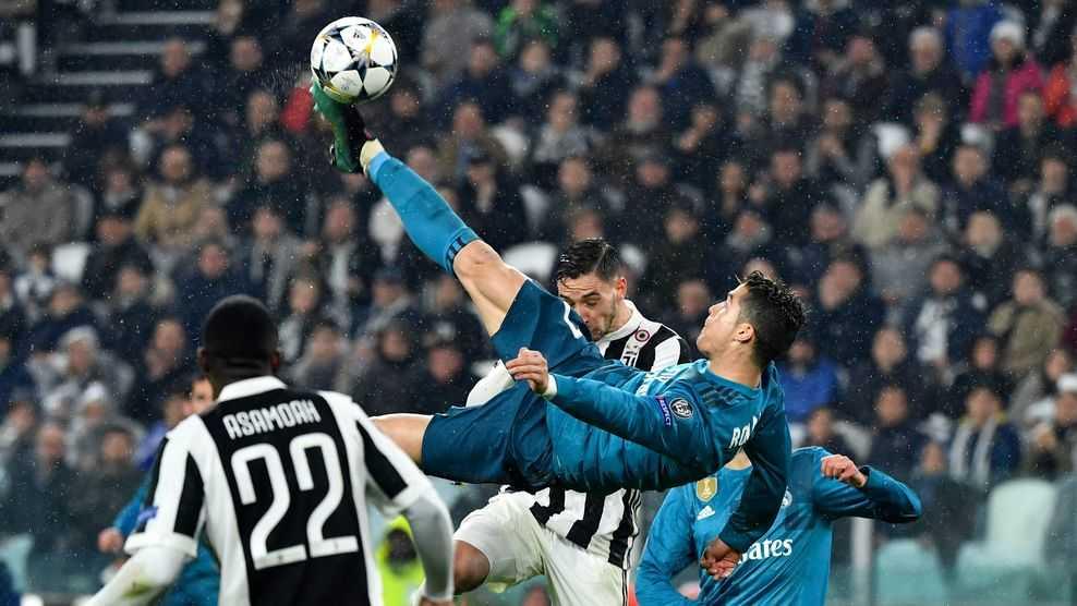 Ronaldo ghi siêu phẩm, Real thắng đậm Juventus