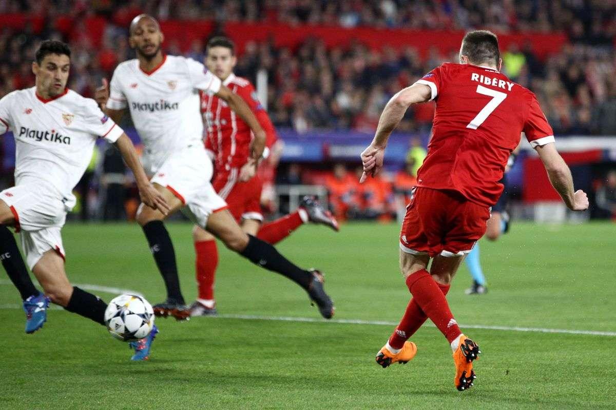 Bayern Munich đang chiếm ưu thế