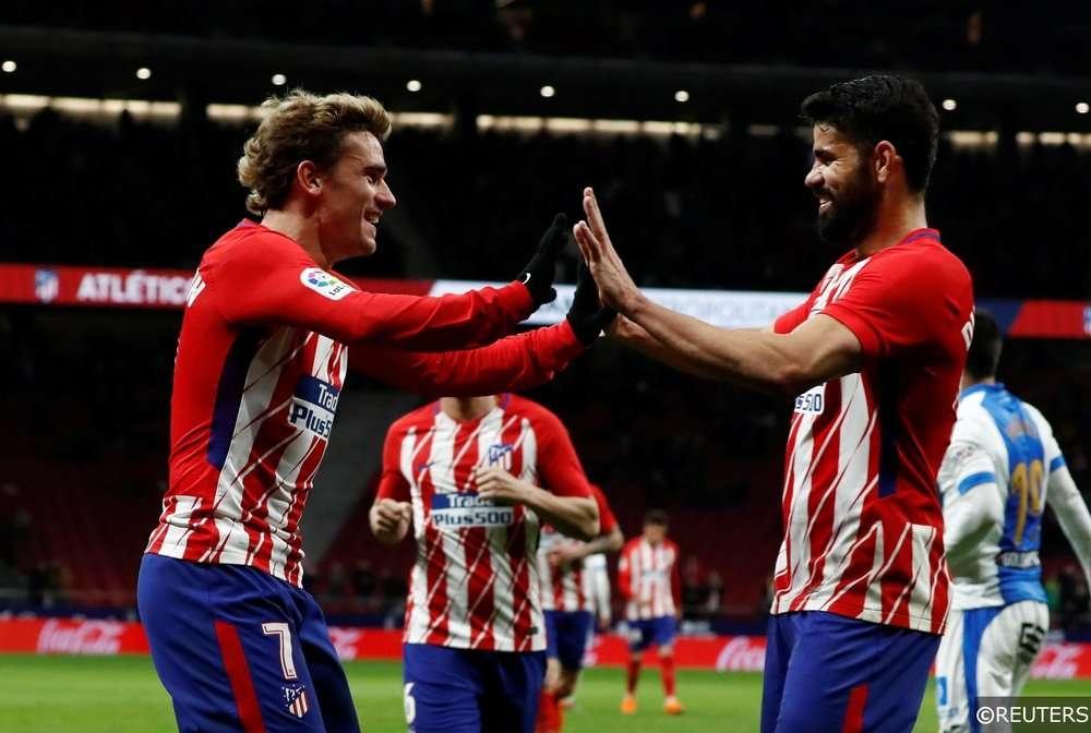 Atletico Madrid nhiều cơ hội đi tiếp